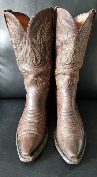 34eb7648430 USA made lucchese 1883 men's cowboy boots